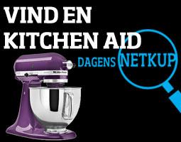 Tilmeld dig Dagens Netkup og vind en lilla KitchenAid